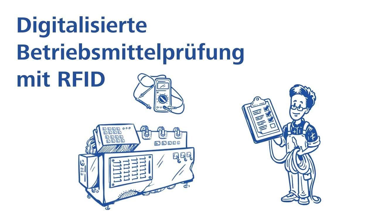 Digitalisierte Betriebsmittelprüfung mit RFID