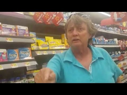 Racist rant inside Walmart goes viral