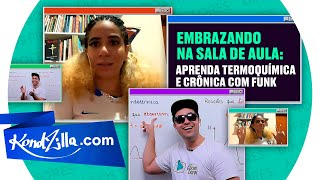 Desenrolando com funk: aulão dos profs Gabriel Cabral e Fernanda Souza