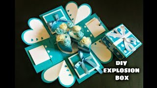 Explosion Box Tutorial | Birthday Box | How to Make Explosion Box