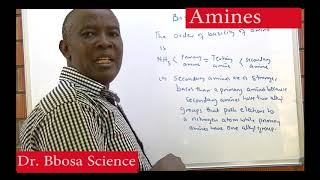 AMINES BY DR BBOSA SCIENCE