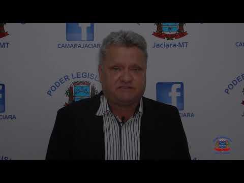 Vereadpr Cloves Pereira fala das indicações apresentadas na última sessão