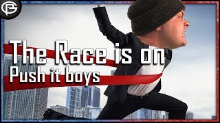 The Race is on! Gotta go Fast