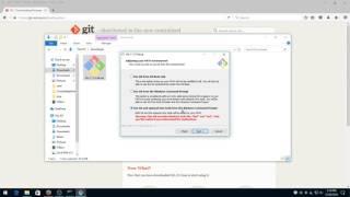 Install Git for Windows 10