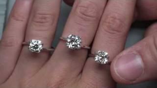 GIA Ex/Ex Cushion Cut Diamonds: Hand Shots