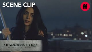Shadowhunters | Season 2, Episode 10: Izzy Saves Alec and Aldertree | Freeform