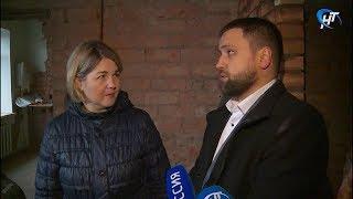 И.о. министра здравоохранения Резеда Ломовцева проинспектировала ход ремонтных работ в Шимской ЦРБ