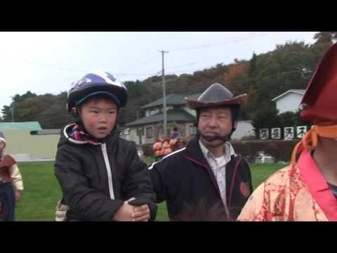 2015年10月24日「八戸・小久保保育園乗馬体験会」