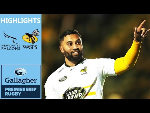 f47783f09a8 Newcastle Falcons v Wasps | Sopoaga Penalty Proves Vital | Gallagher  Premiership