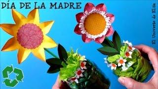 Manualidades para el Día de la Madre, Regalos para el Día de las Madres, Manualidad de reciclaje