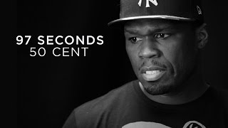 """50 Cent """"I was afraid and I wasn't comfortable with being afraid"""""""