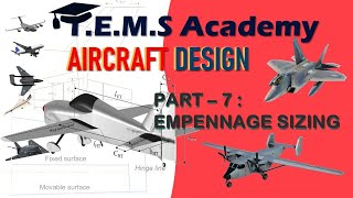 Tail plane Design of an Aircraft - Part 7 || Tail volume coefficient, aerodynamic balancing || ADP