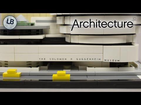 Vidéo LEGO Architecture 21035 : Solomon R. Guggenheim Museum