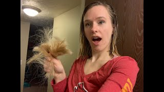 Cutting 6 Inches of Hair off