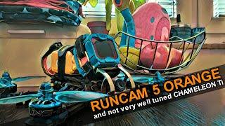 FPV freestyle with Runcam 5 orange 4K