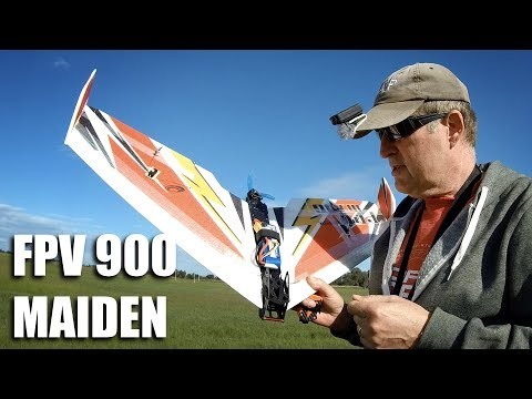 techone-fpv-900-wing-maiden