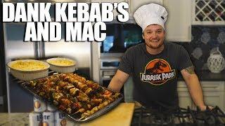 Cooking With Dan   Dank Kebabs & Mac with a SHOCKING Twist...