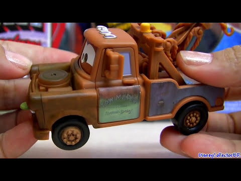Carros 2 Mater With Wasabi Quick Changers NEW Disney Pixar Cars Dublado Em Portugues Brazil