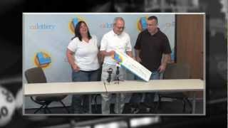 CA Lottery Winner! - Man Claims $14 Million SuperLotto Plus® Prize