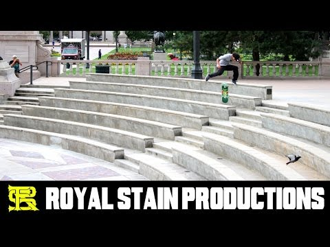 Julian Christianson - STREET SKATEBOARDING - H-DTS part - Mile High Alumni