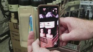 Augmented Reality Example - 19 Crimes Wine AR App