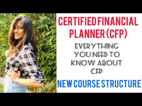 Certified Financial Planner (CFP) Certification - NEW Course ...