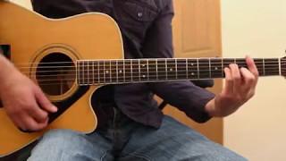 The Chair - George Strait - Guitar Lesson