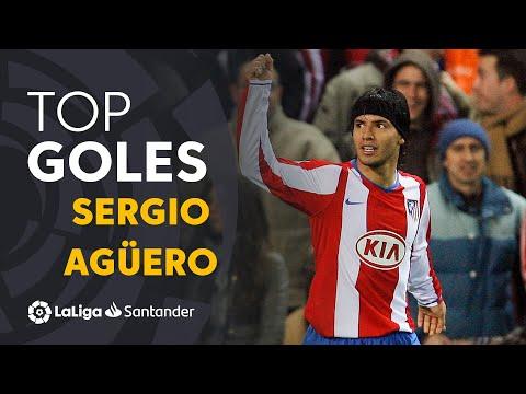 TOP 25 GOALS Sergio Agüero in LaLiga Santander