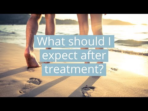 What should I expect after treatment?