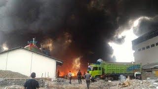 Kebakaran Kapal di Pelabuhan Muara Baru, Suara Ledakan Sempat Terdengar