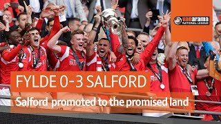 Fylde vs Salford (0-3) | National League play-off final