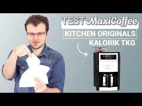 KITCHEN ORIGINALS KALORIK TKG CCG 1000 TKO | Cafetière filtre | Le Test MaxiCoffee
