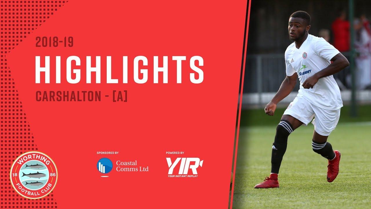 HIGHLIGHTS: Carshalton 1-2 Worthing [A] – League