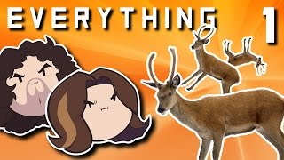 Everything: Clunky Deer Rolling - PART 1 - Game Grumps