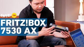FRITZ!Box 7530 AX - deutlich mehr Leistung dank Wi-Fi 6 | FRITZ! Talk 34