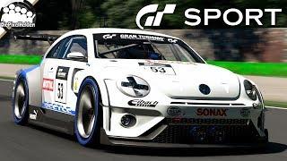 GRAN TURISMO SPORT - Volkswagen Beetle Gr. 3 @ Monza - Let