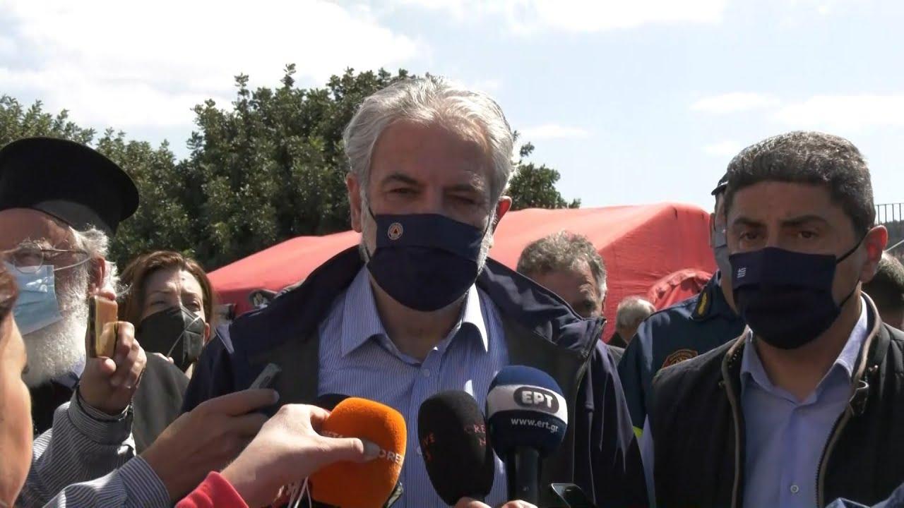 Χρ. Στυλιανίδης: Στην τελική ευθεία oι αποζημιώσεις των πληγέντων και η άφιξη οικίσκων