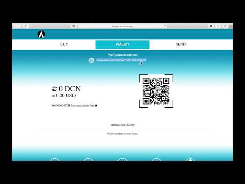 Dentacoin Wallet dApp: How to Buy, Store, Send and Receive DCN