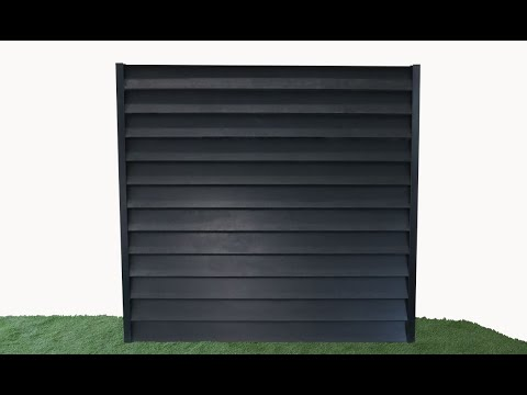 How to build a DuraPost Z-Board Full Fence Panel thumbnail