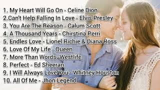 Lagu ROMANTIS Barat Penghantar Tidur Best Love Song Terbaik Terpopuler (Best COVER)
