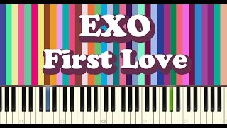 EXO - FIRST LOVE piano cover