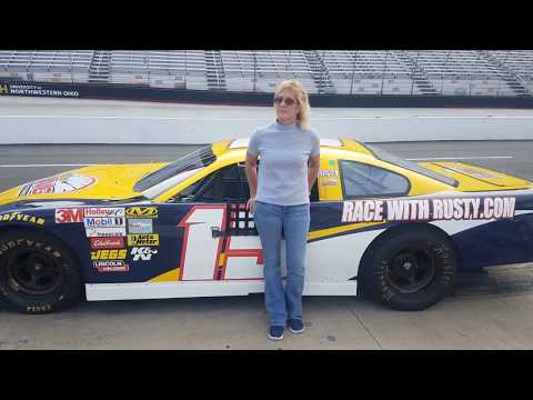 Driving a Late-Model NASCAR at Bristol Motor Speedway