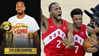 Klay Torn ACL, Raptors Stop 3Peat, 1st Championship! 2019 NBA Finals