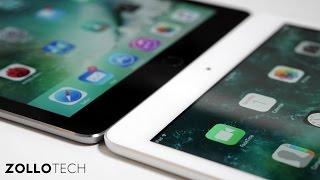 iPad (early 2017) vs iPad Air 2 - dooclip.me