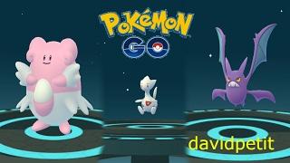 Crobat  - (Pokémon) - EVOLUCIONES DE 2n GENERACIÓN! BLISSEY, CROBAT, TOGETIC Y MUCHOS MÁS! [Pokémon GO-davidpetit]