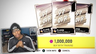 ONE MILLION TRAINING Pack And Play! Madden 20 Ultimate Team