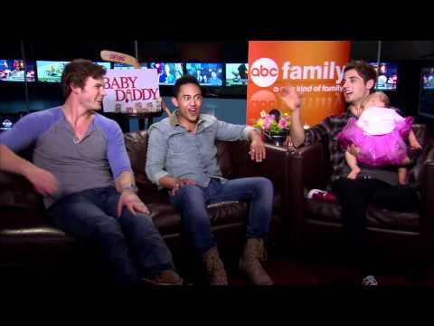 Jean Luc Bilodeau, Derek Theler and Tahj Mowry interview with the BABY