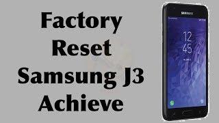 Factory Reset Samsung J3 Achieve Model SM-J337P, J3, J3 Luna | Hard Reset J3 | NexTutorial