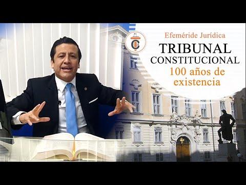 TRIBUNAL CONSTITUCIONAL: 100 años de existencia - TC178