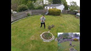 Fpv vlog | kleine Garten session - FatShark DVR - GoPro session 4